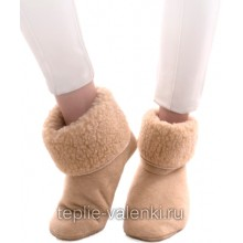 Носки шерстяные бежевые Артикул N201