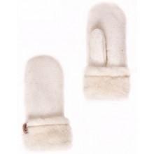 Варежки белые Артикул R102