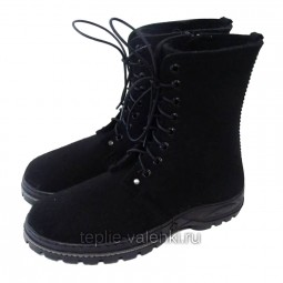 Войлочные ботинки мужские на молнии Артикул V439
