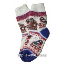 Носки вязаные подростковые Артикул N265