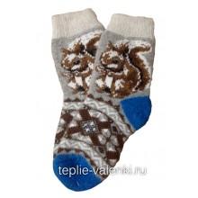 Носки вязаные подростковые Артикул N266