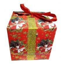 Подарочная коробочка красная Артикул P701