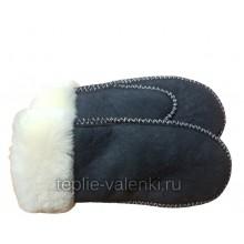 Рукавицы женские синие Артикул R125