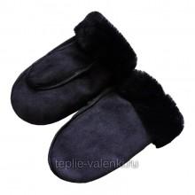 Рукавицы мужские синие Артикул R121